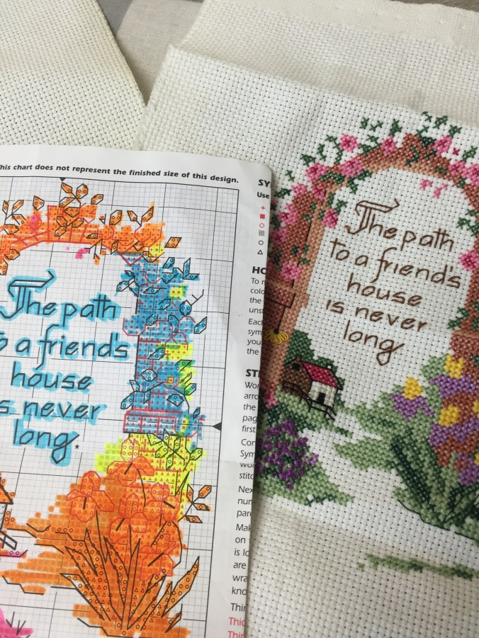 Embroidery Hobbies Up To Here