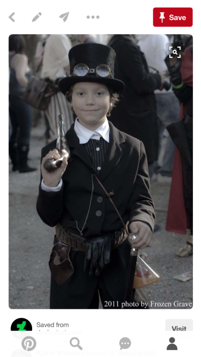 Diy Steampunk Kid Costume Hobbies Up To Here